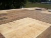 Removed existing roof down to decking